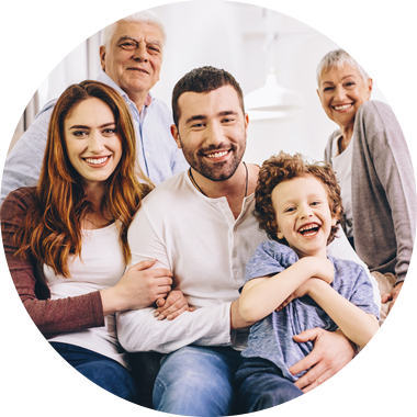 Multigenerational family photo