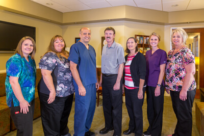 The team at Robert J Malone, DDS