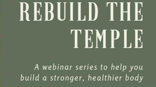 Rebuild the temple logo