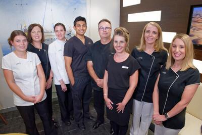 The team at Hugh Fleming Dentistry