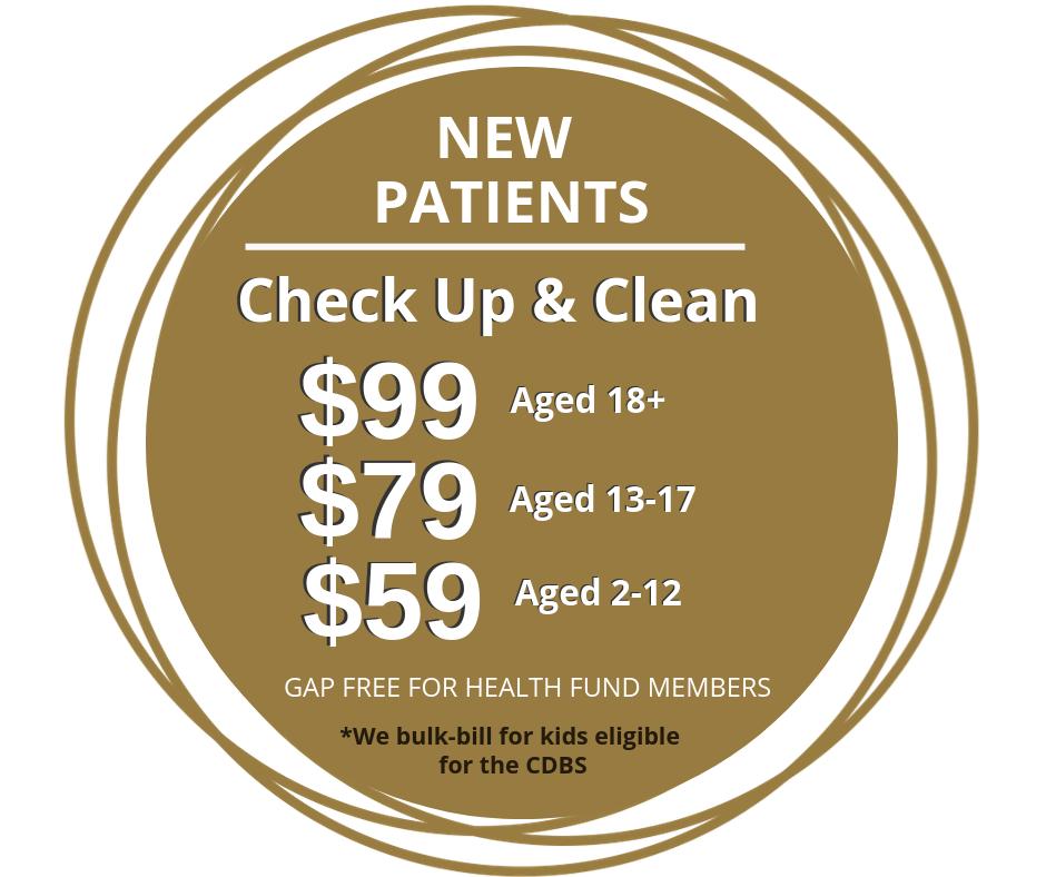 New Patient Prices