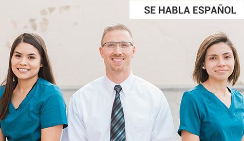 Team photo - Spanish banner