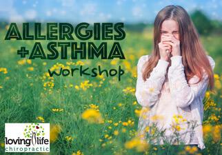 Allergies & Asthma Workshop flier
