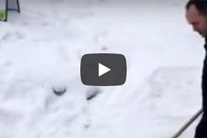 snow shoveling video thumbnail