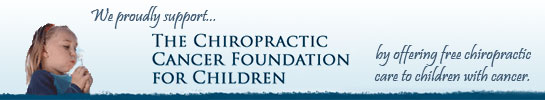 The Chiropractic Cancer Foundation for Children