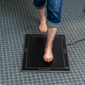 Feel on gait scanner