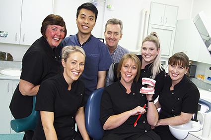 The team at John Appleyard Dental