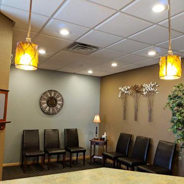 Kersten Chiropractic & Acupuncture waiting area