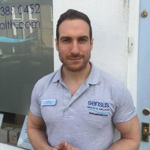 Sensus Health & Wellness Chiropractic Assistant, Darryl Lampen