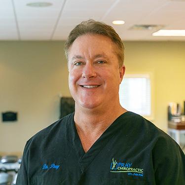 Quiropráctico en Dalton,  Dr. Charles Pray