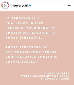 quote from theeverygirl on Instagram