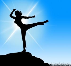 Yoga Pose Means Spiritual Silence And Meditated