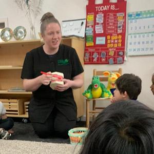 kinder workshop Kerry with kids