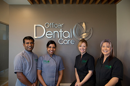 The team at Officer Dental Care