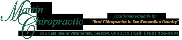 Martin Chiropractic logo - Home