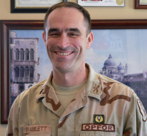 Lieutenant Colonel Jeff Bramlett - U.S. Army thumbnail