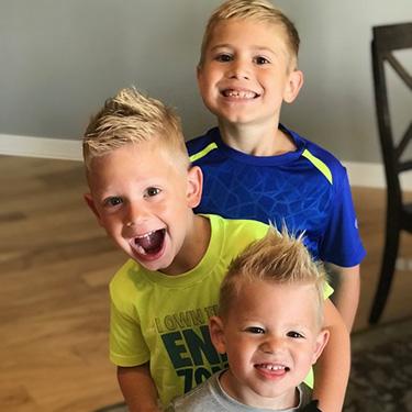 Dr. Annie's 3 sons