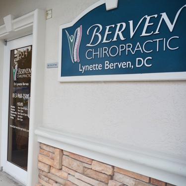 Berven Chiropractic Front Door