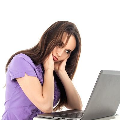 proper posture in front of computer