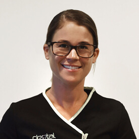 Erin Currey, Receptonist