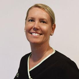 Kellie Pink, Receptionist