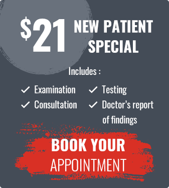 $21 New Patient Special Offer