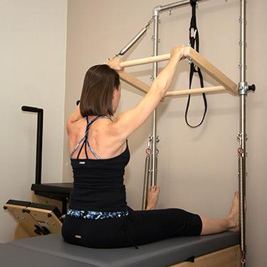 sitting-exercising
