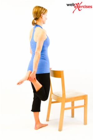 Standing Quadricep Stretch-step-2