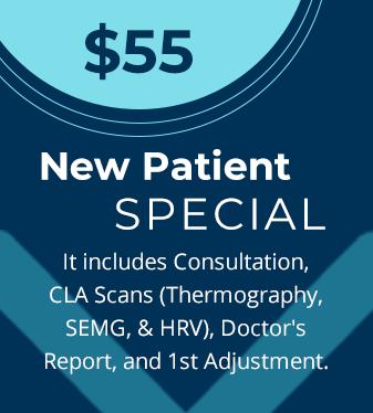 Chiropractic New Patient Special - 1st Visit Just $55