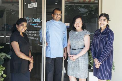 The team at  SAV Dental
