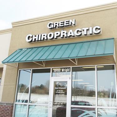 Green Chiropractic Exterior