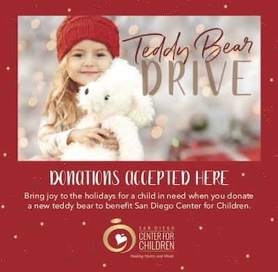 Teddy Bear Drive Ad