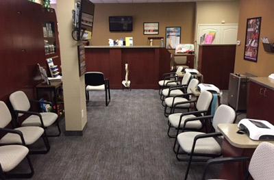 Community Chiropractic Waiting Room