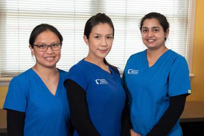 our friendly  dental assistants