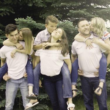 Dr. Jensen's family