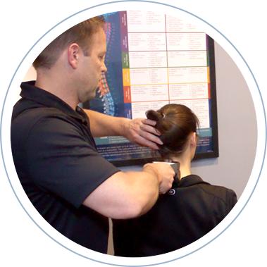 doctor using chiropractic technique on patient