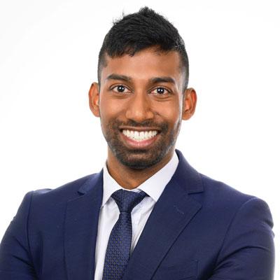 Dr Trishin Seetharam, Dentist
