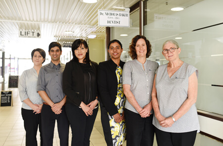 The team at Nicholas Baker's Dental Surgery