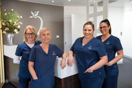 The support team at Junction Village Dental