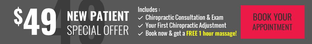 $55 Chiropractic New Patient Special