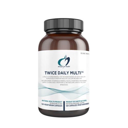 twice daily multivitamin