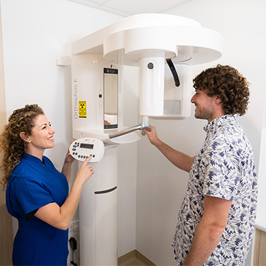 Dr Yvonne and OPG x-rays