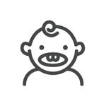 Illustration of toddler