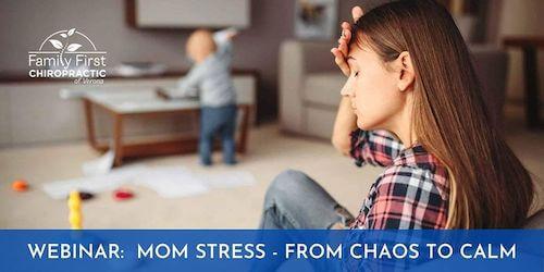 Mom stress webinar