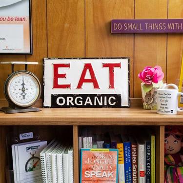 A Balanced Approach Nutrition office decor