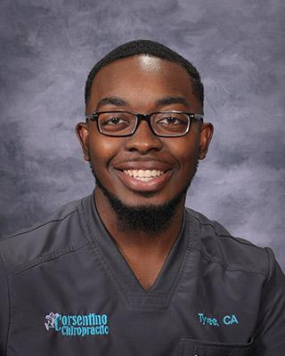 Tyree Allen, Corsentino Chiropractic Chiropractic Assistant