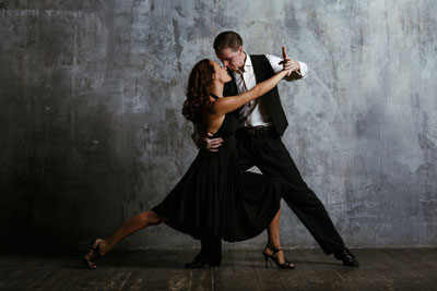 Ballromm dancing stretch