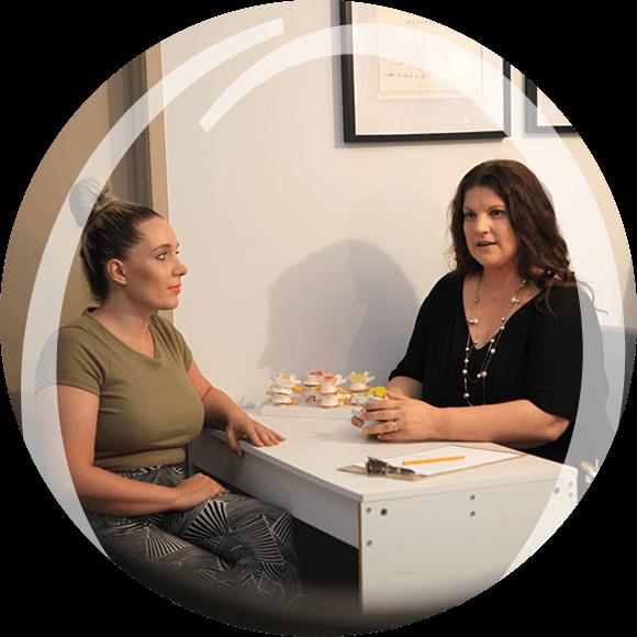 Dr Estelle consultation with female patient
