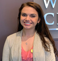 Photo of Lillian Hertzel, chiropractic assistant