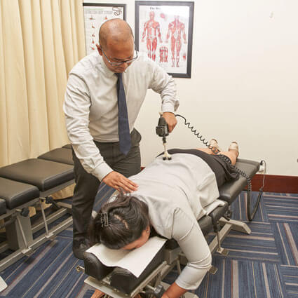 Spinal Manipulation by Dr Janfrional